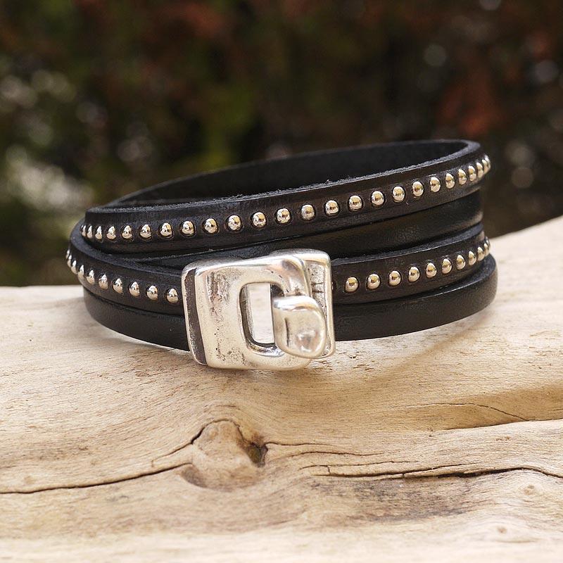 bracelet cuir 15cm