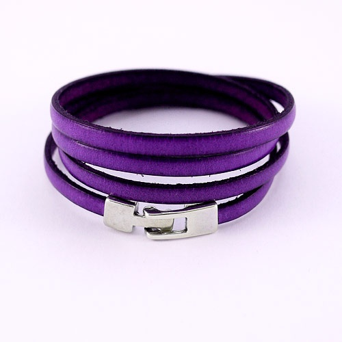 braceletcuir-simple4tviolet1